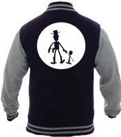 WOODY MOON VARSITY - INSPIRED BY TOY STORY WOODY BUZZ FORKY